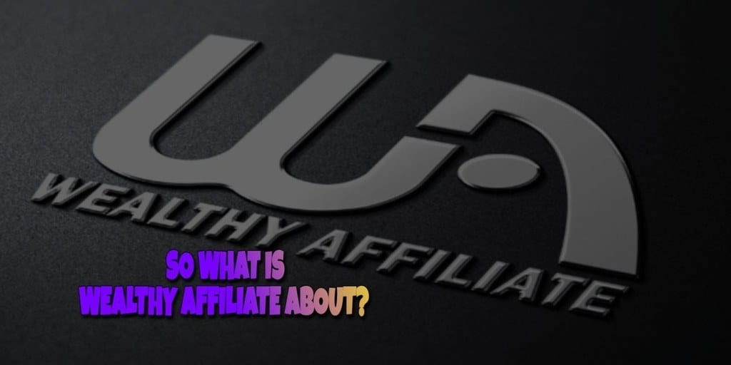 What is the Wealthy Affiliate About?