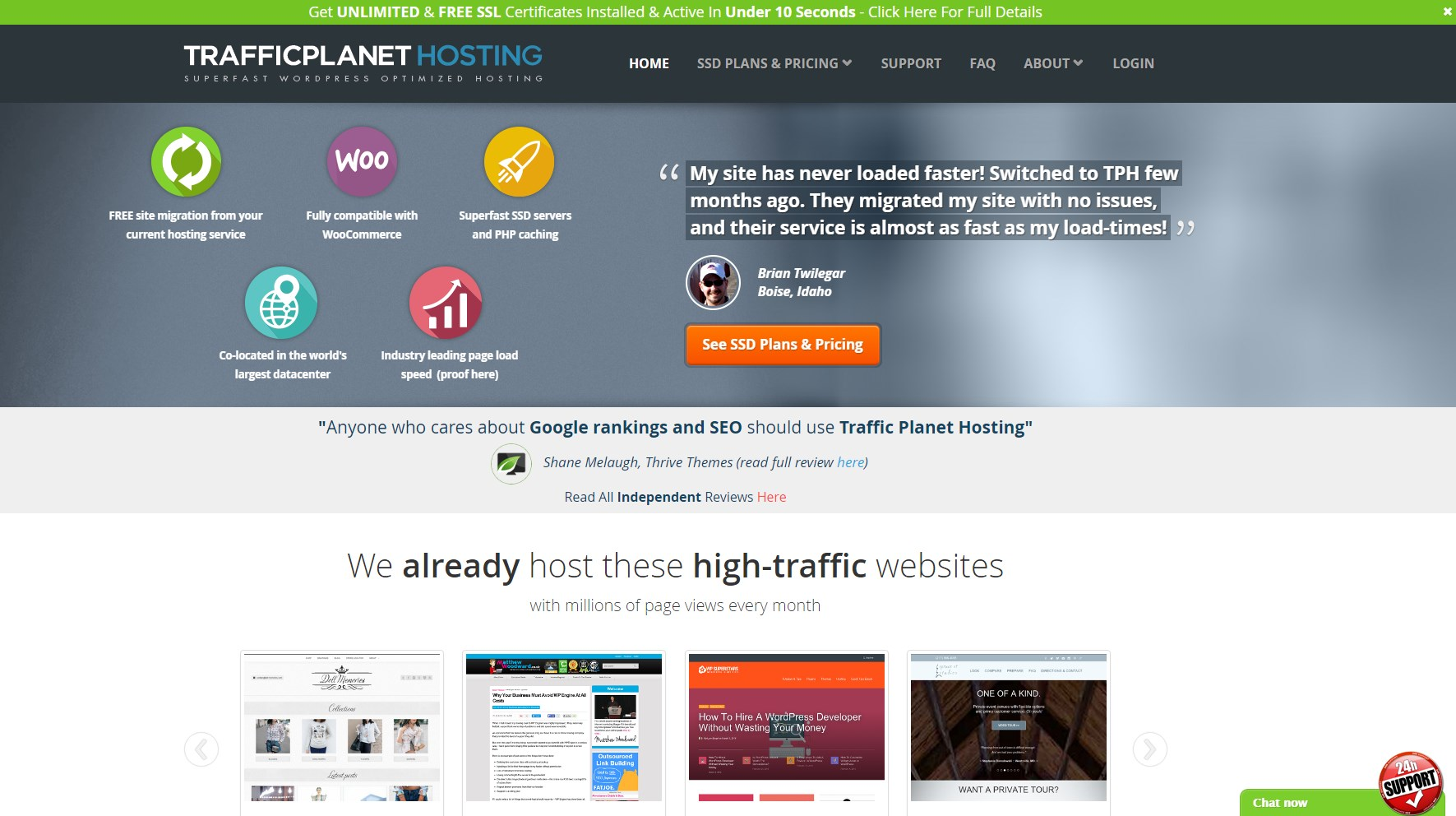 optimized web hosting