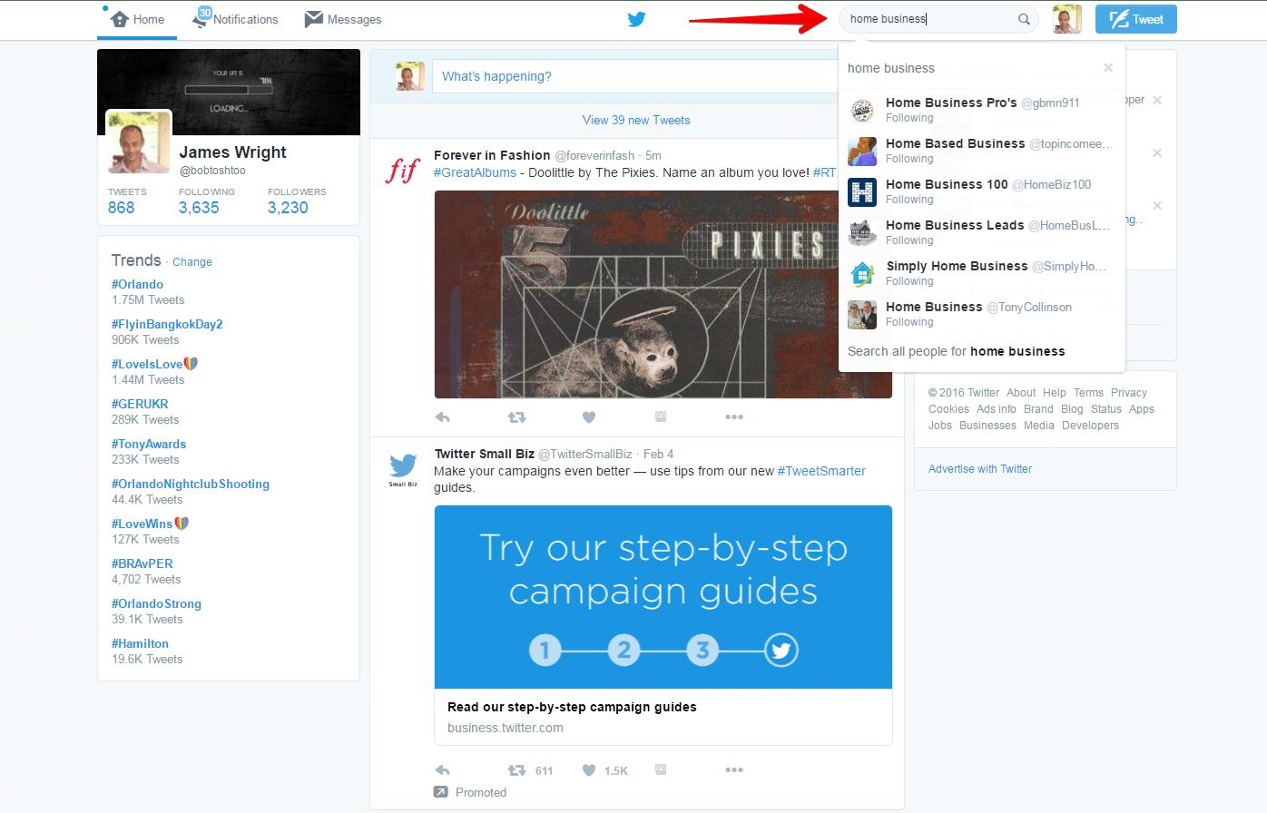 Twitter - Google Chrome