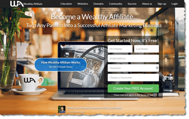Wealthy Affiliate is an essential Online Business Tool