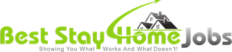 best stay home jobs logo