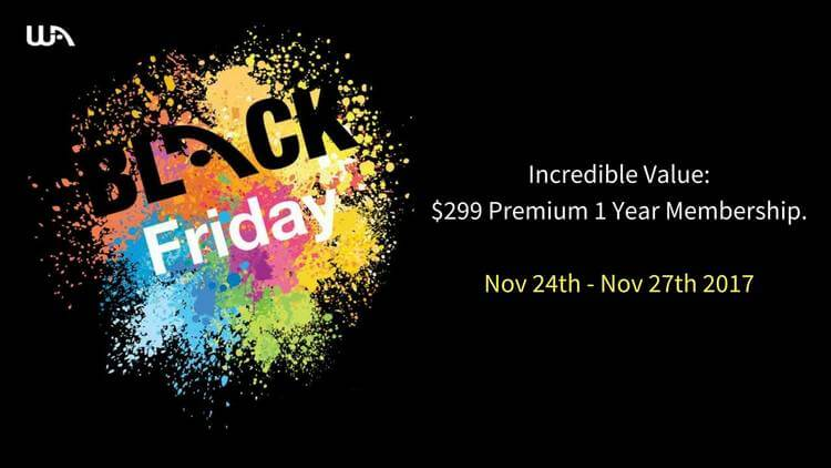 why you should invest in the wealthy affiliate black friday deal