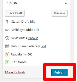 Publish Your Latest Article