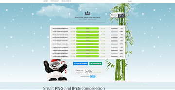 TinyPNG Compresses Your Images