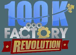 100K Factory Revolution Logo