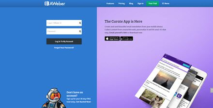 Free Aweber Account Signup