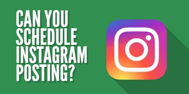 Scheduled Instagram Posts