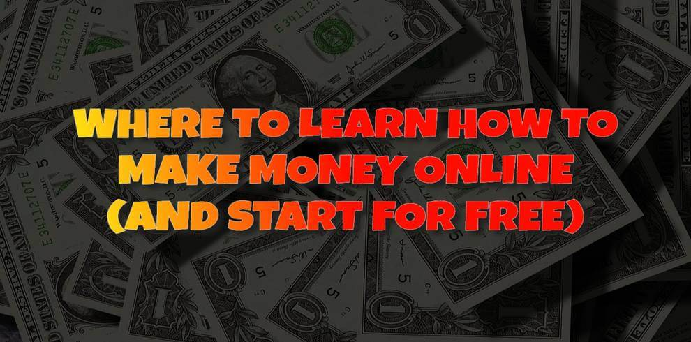 how to learn how to make money online free