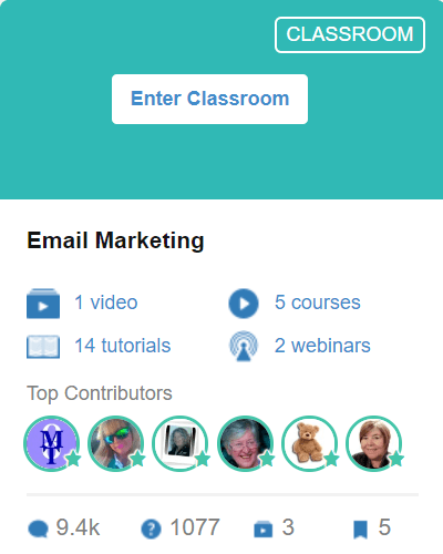 Classroom 12 - Email Marketing