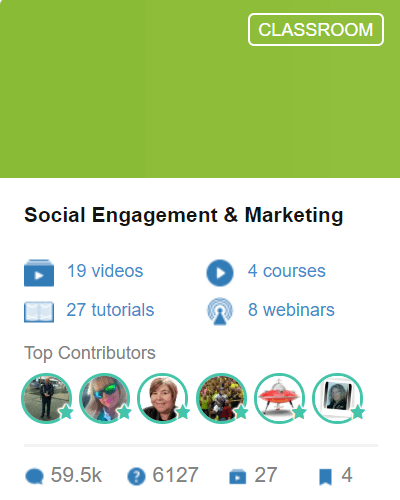 Classroom 2 - Social Engagement and Marketing