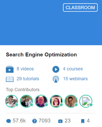 Classroom 7 - Search Engine Optimization