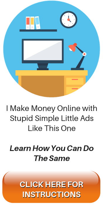Stupid Simple Little Ads Like This One Help Me Earn Passive Income Online
