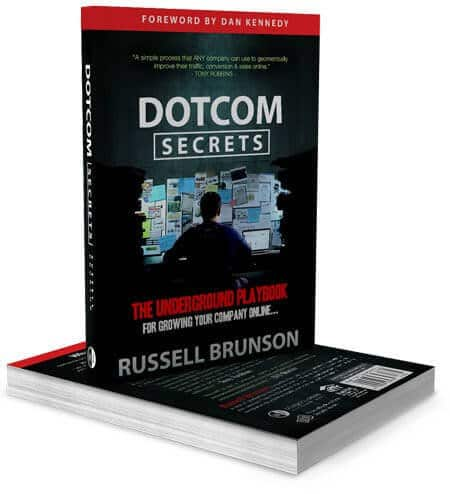 DotCom Secrets Book by Russell Brunson