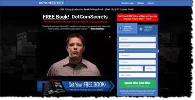 Free Dotcom Secrets Book Home Page