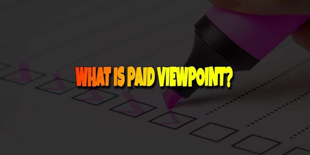 What is Paid ViewPoint?