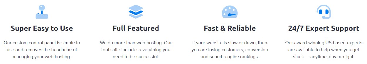 Features of DreamHost