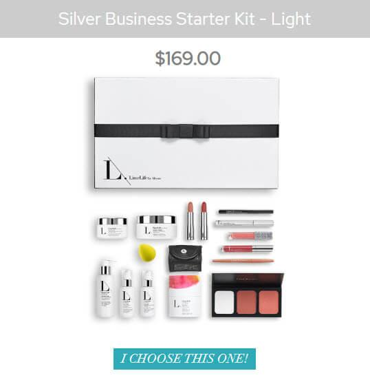 LimeLife MLM Review - Silver Business Starter Kit Light