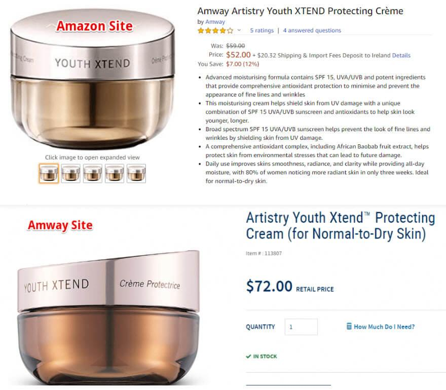 Amway MLM Review - Pricing on Amazon Compared to An Amway Website
