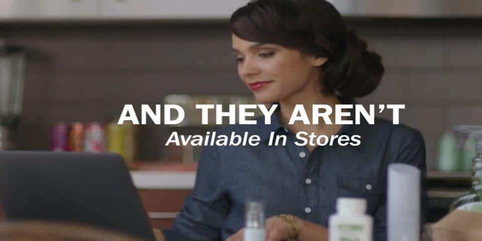 Amway MLM Review - Promotional Video Screenshot Shows Amway IBO with Laptop